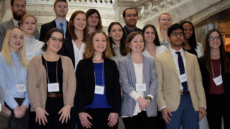 Posters at the Capitol 2018 student research group