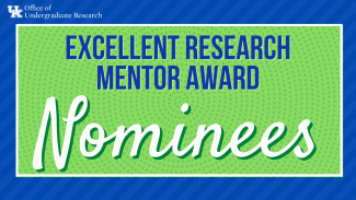 Excellent Research Mentor Award Nominees
